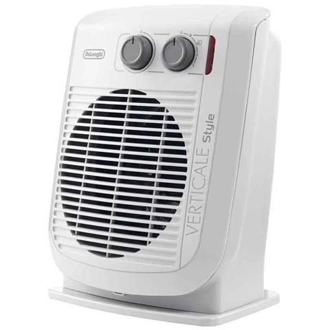 DE LONGHI HVF3030MD Termoventilatore Potenza 2000 Watt con Termostato Colore Bianco