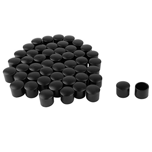 Sourcingmap PVC Bein Kappen Tipps Cup Füßen umfasst 13mm 1,3cm Innen Dia 50Feuchtigkeit abweisenden Keramik Bodenschutz für Möbel Schreibtisch Bänke -