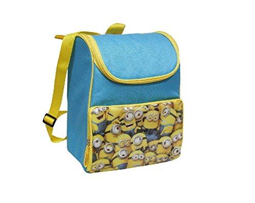 Kit minions zaino termico porta merenda astuccio 3 scomparti borsa a tracolla fair