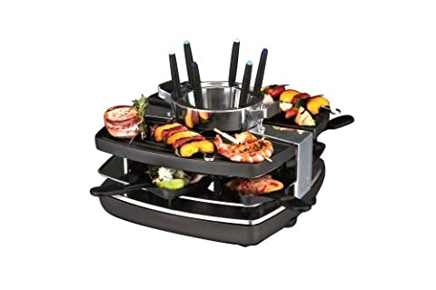 Gastroback 42559 Raclette and Fondue Set