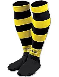 Joma 105 - Medias zebra, color amarillo / negro, talla L