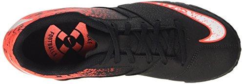 Nike Bombax Tf, Chaussures de Football Homme Noir (Black/white/total Crimson)