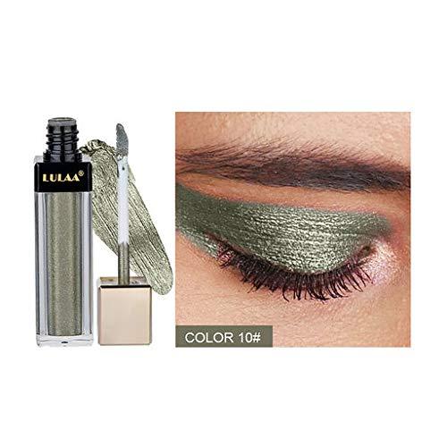 Les Cadeaux de Valentine pour Les Femmes !!! Beisoug Metallic Diamond Eyeshadow Liquide Brillant Imperméable Brillant Scintillant Maquillage Cosmétique Star Ey