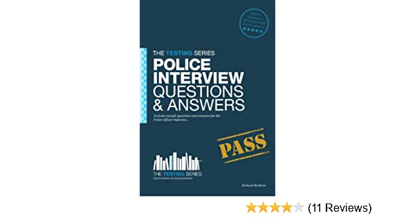 police officer interview questions and answers ebook richard mcmunn amazoncouk kindle store