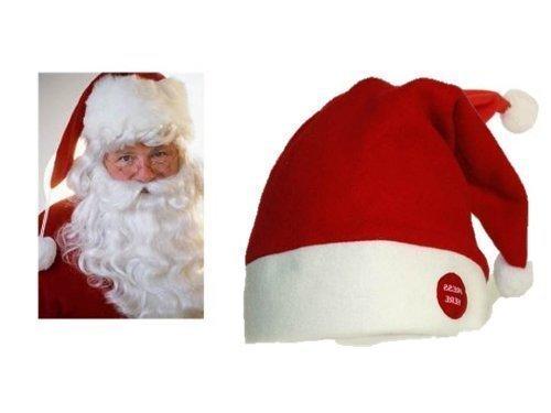 Preisvergleich Produktbild Weihnachtsmütze tanzend mit Musik