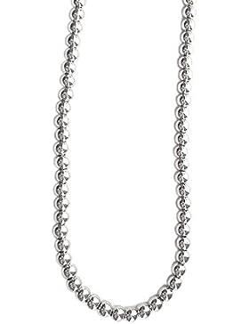 Halskette aus Silber 925massiv. Halskette mit Kugeln, Halskette 45cm. Halskette 750mm Typ Militärische