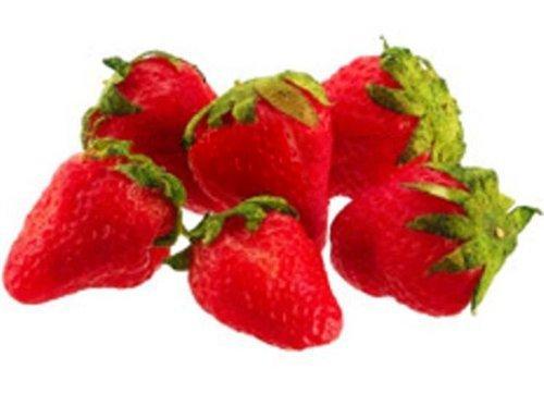 GODHL Pack of 5 Artificial Strawberries Shopping bag, 3cm x 2.5 cm