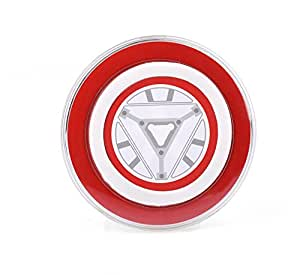 Hibote Fashion Wireless Chargeur Charging Pad For Samsung Galaxy S6/S6 edge Iron man