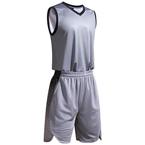 unbrand Jungen Herren Fußball Basketball Sportsweste Weste Outfit Mädchen Sommer Trikots Anzüge Basketball Uniform Tops Shorts