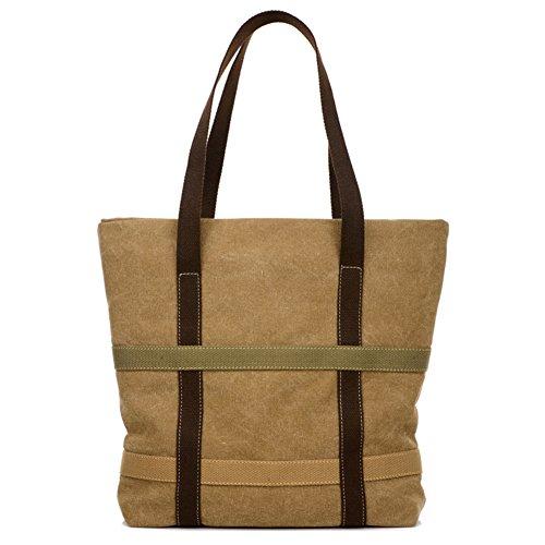Tote bag borse donna borsa grande sacchetto di tela di arte semplice borse a spalla womens piccolo bump-colore borsetta fresca-C A