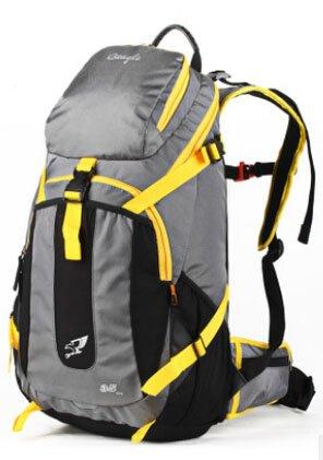 Cinny outdoor - doppel - rucksack der tasche student tasche Grey