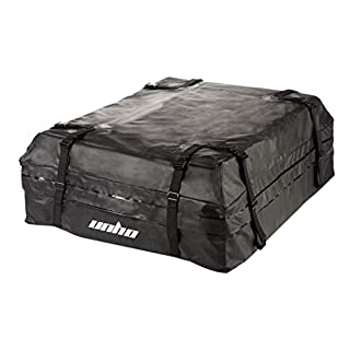 LUVODI Car Roof Bag 425 Litres (15 Cubic Feet) Strong Waterproof Cargo Boxes Car Rooftop Rack Large Storage Carrier Bag for Cars Vans SUVs Truck Travel Luggage Trans with Handy Cover Bag
