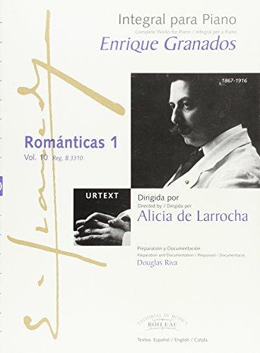 Integral para piano Enrique Granados: Románticas 1 - B.3310 por Enric GRANADOS