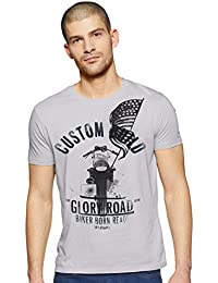 Wrangler Men's Printed Regular fit T-Shirt