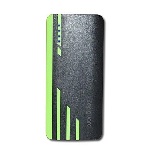 Lapguard Sailing-1530 13000mAH Lithium ion Power Bank (Black-Green)
