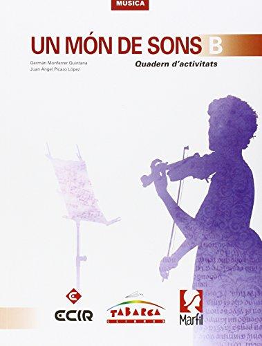 Un Mon De Sons B Quadern - 9788480253468 por Germán Monferrer Quintana