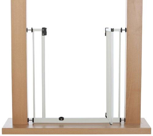 IMPAG ® Treppenschutzgitter EASY STEP passend für 62cm - 212cm | Höhe 77cm | ohne Bohren | Türschutzgitter6 Farben | einfache Montage | Tür-Gitter | Treppen-Gitter Baby Kleinkind Hund - 4