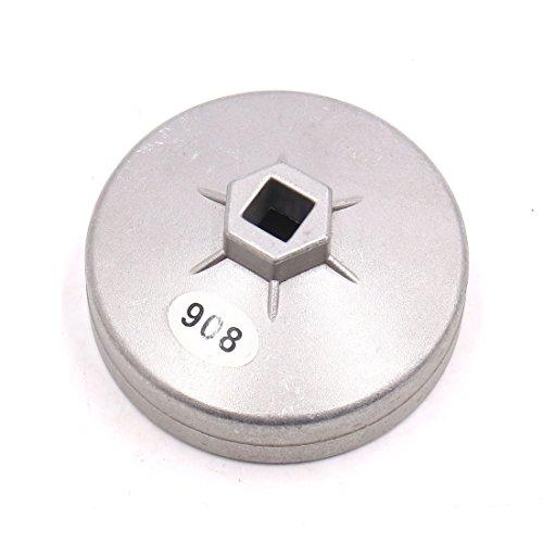 Homyl Cl/é De Filtre /à Huile R/églable De V/éhicule Cl/é De Serrage Type Cl/é /à Menotte 60-75mm