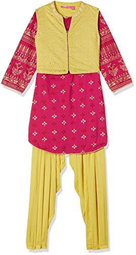 Biba Girls' Salwar Suit Set (KW2493_FUS_7)