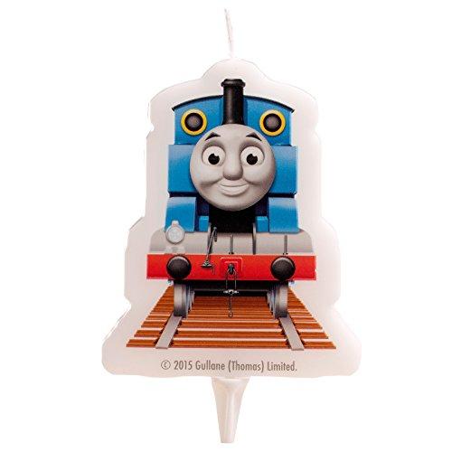 dekora 346132 - Vela con diseño Thomas and Friends 2D, 7,5 cm