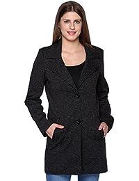 TruFit Women's Tweed over Coats (Black, 2XL)