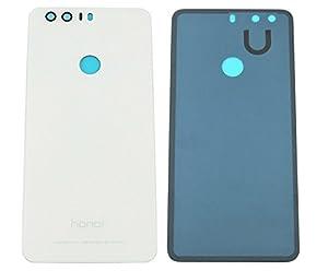 Huawei Honor 8 Akkudeckel Akku Deckel Backcover Battery Cover Rückseite Gehäuse + Klebestreifen Weiß