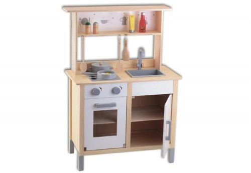 Vades Holzküche mit Aufsatz