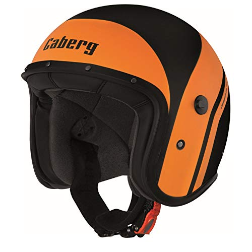 Caberg Freeride Mistral Jethelm L (59/60) Schwarz Matt/Orange
