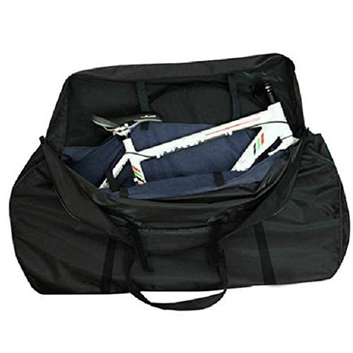 Bolsa suave de transporte para bicicleta Yahill, negro