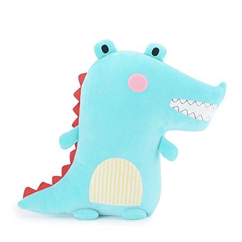 Metoo Tier Kissen/Gefüllte Krokodil - Plüsch Umarmt Kissen Gefüllte Spielzeug Rosa (16 Zoll) - Super Soft Room Sofa Dekorationen