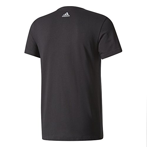 adidas Herren Linear Knitted T-Shirt Black