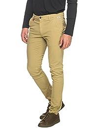 Franklin & Marshall Men's Men's Khaki Chino Trousers Cotton