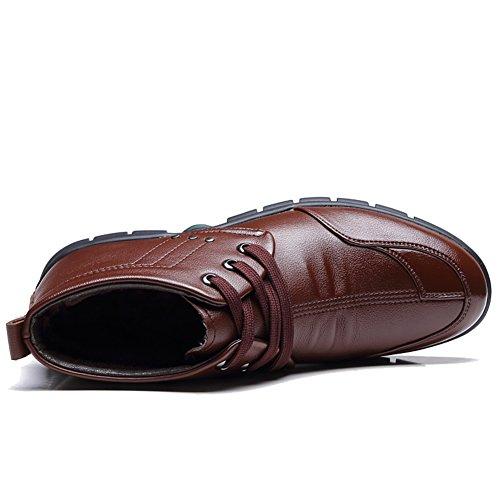 chaussures de coton pour hommes/Plus velours hiver chaussures chaussures de laine et de coton/chaussures en laine de coton/Les souliers B