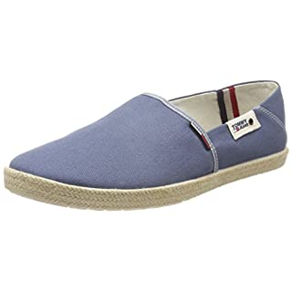 Hilfiger Denim Herren Tommy Jeans Summer Slip on Shoe Slipper, Blau (Jeans 013), 46 EU