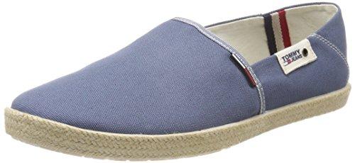Hilfiger Denim Herren Tommy Jeans Summer Slip ON Shoe Slipper, Blau 013, 43 EU