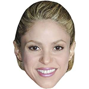 Shakira Celebrity Mask, Card Face and Fancy Dress Mask