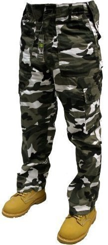 Erwachsene Camouflage Armee Cargo Kampfhose - 12 different Camouflage Muster! 30