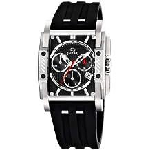Jaguar 645/2 - Reloj de caballero de cuarzo, correa de plástico color negro