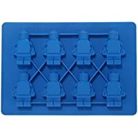 Mini figure shape ice tray in Blue