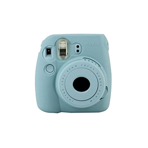 camera-case-kingwo-classic-noctilucent-camera-case-skin-cover-for-fujifilm-instax-mini8-mini8s-blue
