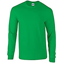 Gildan Soft Style L/Sleeve T-Shirt, Camiseta para Hombre