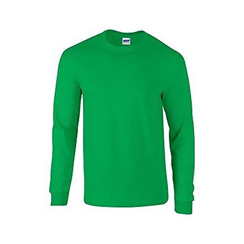 Einfache Kostüm Herren - Gildan Ultra T-Shirt mit Rundausschnitt für Männer (M) (Irisches Grün) M,Irisches Grün