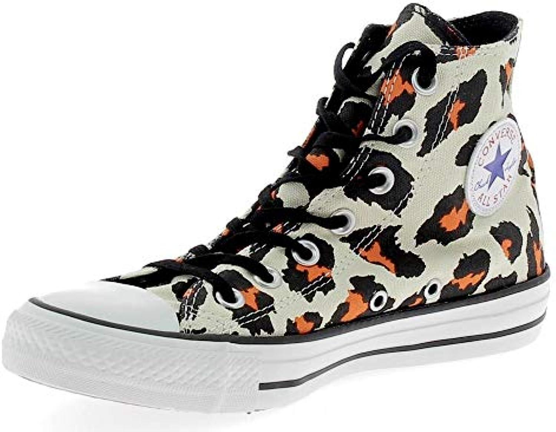 Converse Chuck Taylor All Star Print Hi, Hi, Hi, Baskets pour Femme Marron Beige/Marrone/Arancione *B01GWYG9LQParent 93a59f