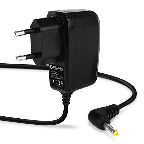 CELLONIC® Qualitäts Ladekabel - 1,20m (1A) kompatibel mit Sony PSP-1000/1004 / 2000/2004 / 3000/3004 / E1000 / E1004 (5V / 4.0mm x 1.7mm) Ladegerät Netzteil Charger (Sony Psp 1000)