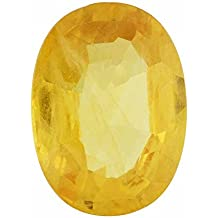 Fedput 5.25 Ratti Pokhraj Yellow Sapphire Certified