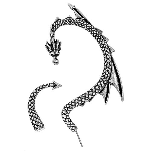 Lure Alchemy Gothic del drago Wrap orecchino (Single) E274 - LEFT