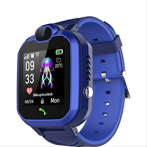 IRFKFTIntelligente UhrNeue männer smart Watch für Ren SOS anruf Location Finder Locator Tracker Anti verloren Monitor Fitness Sport smartwatch China blau