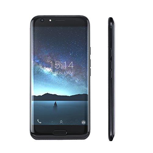 DOOGEE BL5000 Smartphone 4G FDD-LTE 3G WCDMA MTK6750T 64-bit 5,5 pulgadas de Android 7,0 4G + 64G frontal 8MP Volver 13MP + 13MP doble cámara de huellas digitales Desbloquear Smart Gesto OTG 5051mAh carga rápida