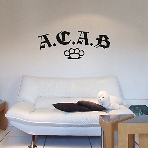 Wandtattoo - ACAB