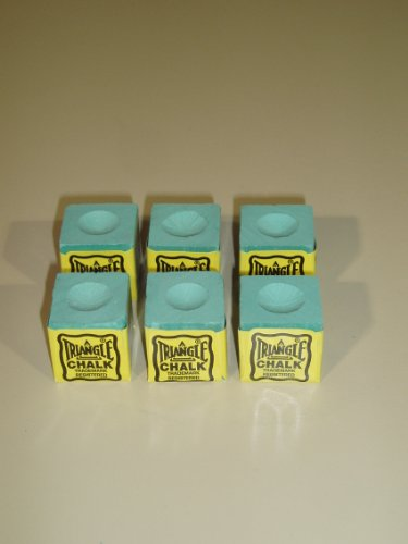 6-PIECES-GREEN-TRIANGLE-CHALK